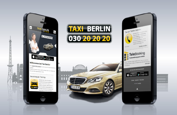 taxi berlin mobile website jetzt auch f r smartphones. Black Bedroom Furniture Sets. Home Design Ideas