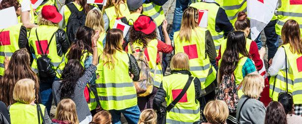 Streik der Berliner Verkehrsbetriebe (BVG)