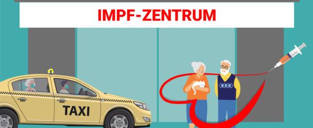 Die Impfaktion ist angelaufen – Taxi Berlin vermittelt Safe-Taxis