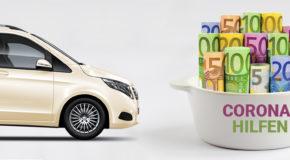 Auslaufende Förderung für den Trennschutz im Taxi