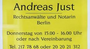 Rechtsanwalt Andreas Just