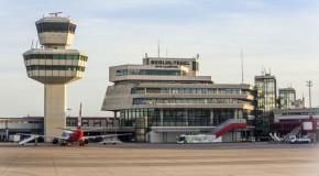 Flughafen Tegel: Dezentrale Vorfahrt gesperrt