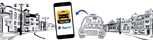 taxi.eu Außenwerbung