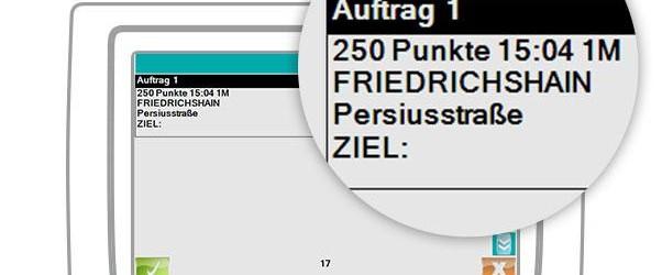 Informationen zum Taxi Berlin Punktesystem