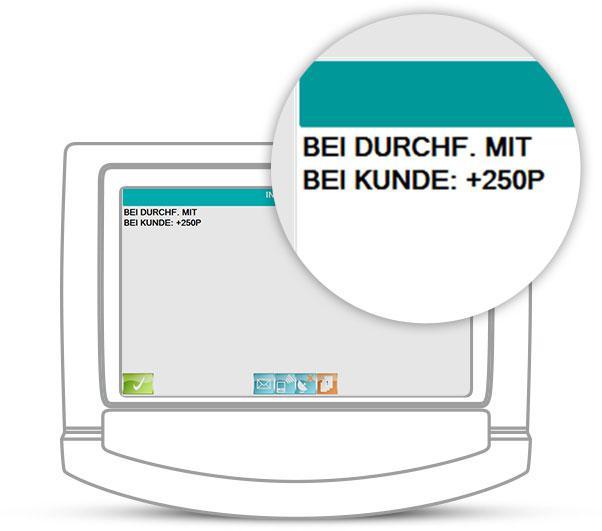 Taxi Berlin - Meldung beim Kunden