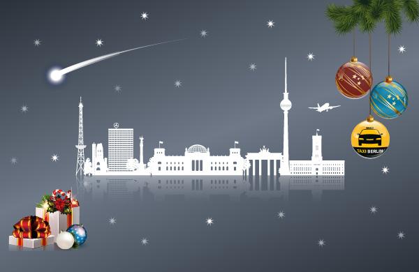 taxi berlin w nscht frohe weihnachten. Black Bedroom Furniture Sets. Home Design Ideas