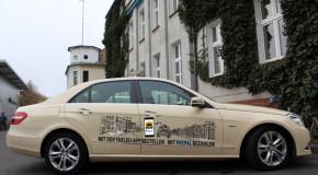 Attraktives Angebot für Taxi-Außenwerbung