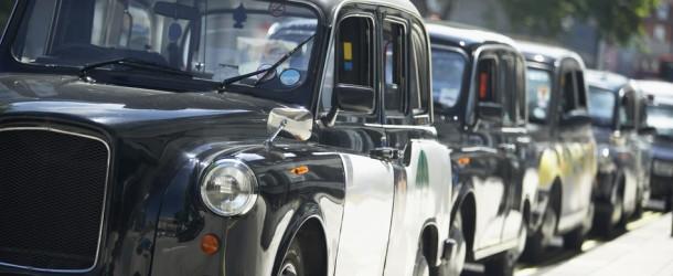 Londons Taxifahrer streiken