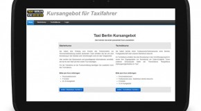Positive Resonanz für Online-Kursanmeldung bei Taxi Berlin