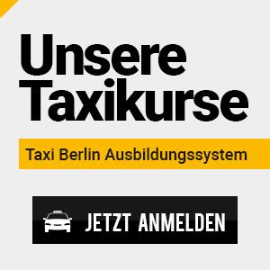 Taxikurse bei Taxi Berlin