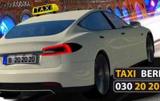 Infos zum Taxitarif in Berlin