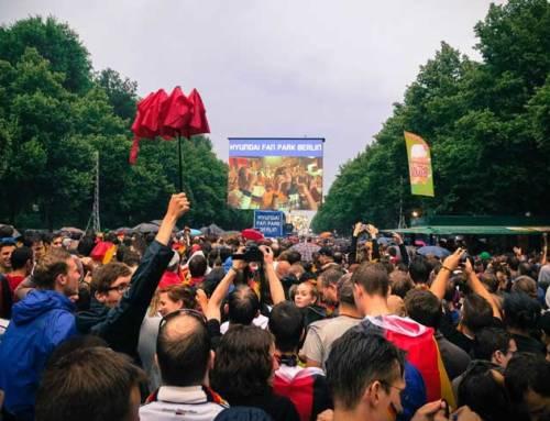 Informationen zur Berliner Fanmeile anlässlich der Fußball-EM 2016
